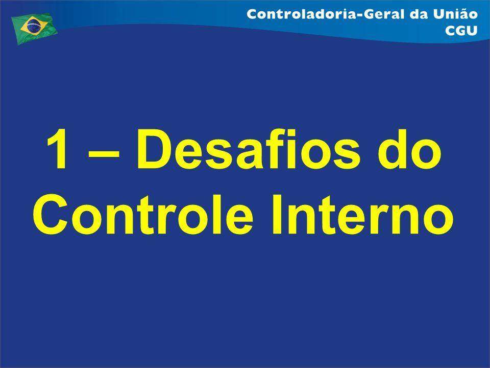 1 – Desafios do Controle Interno