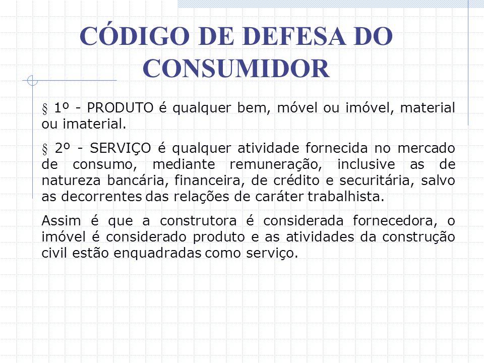 CÓDIGO DE DEFESA DO CONSUMIDOR O Código de Defesa do Consumidor foi sancionado através da Lei 8.078, de 11 de setembro de 1999, mas começou a vigorar