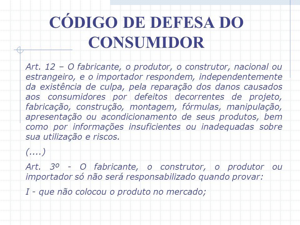 CÓDIGO DE DEFESA DO CONSUMIDOR IX – Vetado. X – a adequada e eficaz prestação dos serviços públicos em geral. Um tópico de significativa importância t
