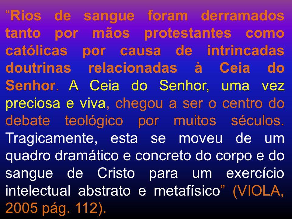 - Mc 14:22-25; Enquanto comiam, Jesus tomou o pão e, abençoando-o, o partiu e deu-lho, dizendo: Tomai; isto é o meu corpo.