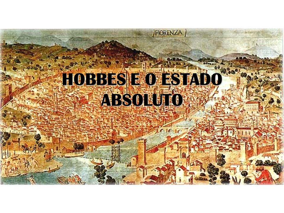 HOBBES E O ESTADO ABSOLUTO