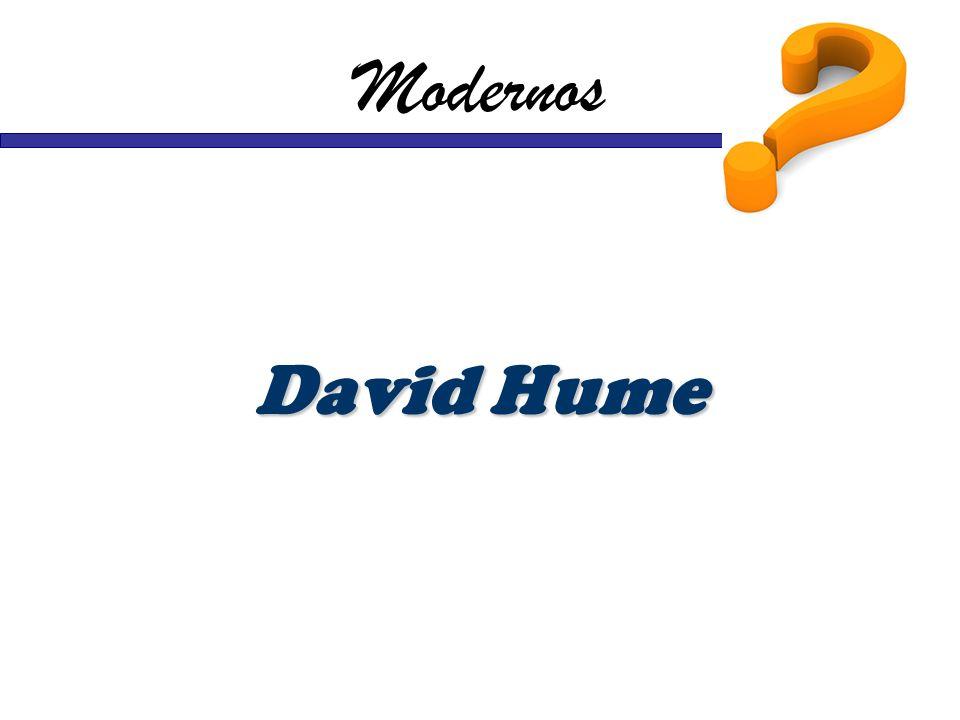 Modernos David Hume