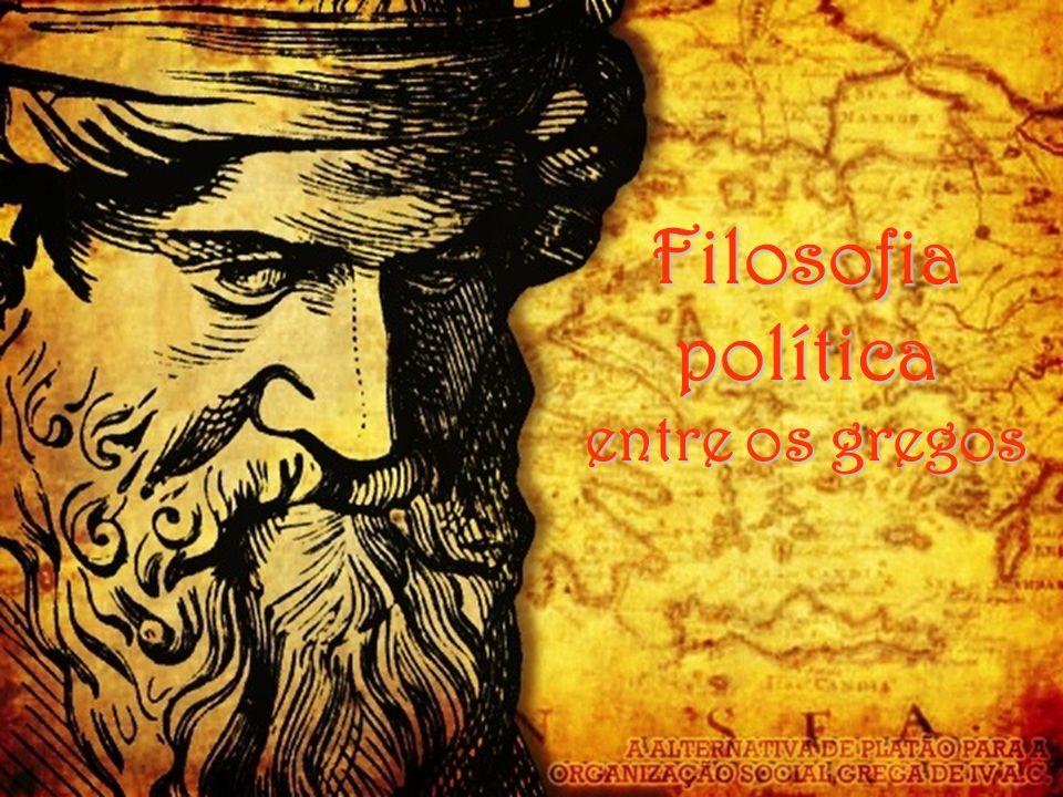 Filosofia política entre os gregos