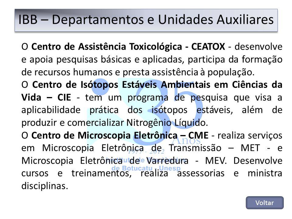 O Centro de Assistência Toxicológica - CEATOX - desenvolve e apoia pesquisas básicas e aplicadas, participa da formação de recursos humanos e presta a