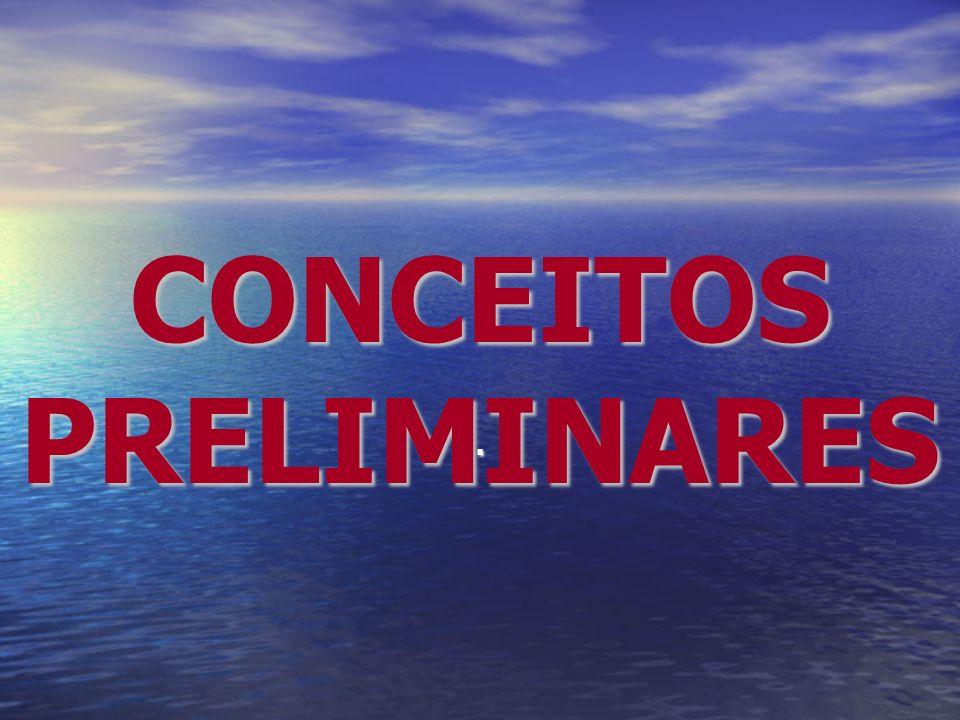 CONCEITOS PRELIMINARES.