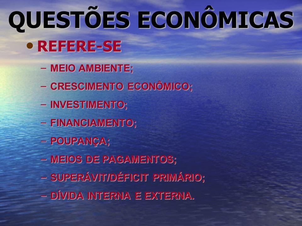 ESTRUTURA DE MERCADO CARACTERÍSTICAS:Competitivo;Concentrado.