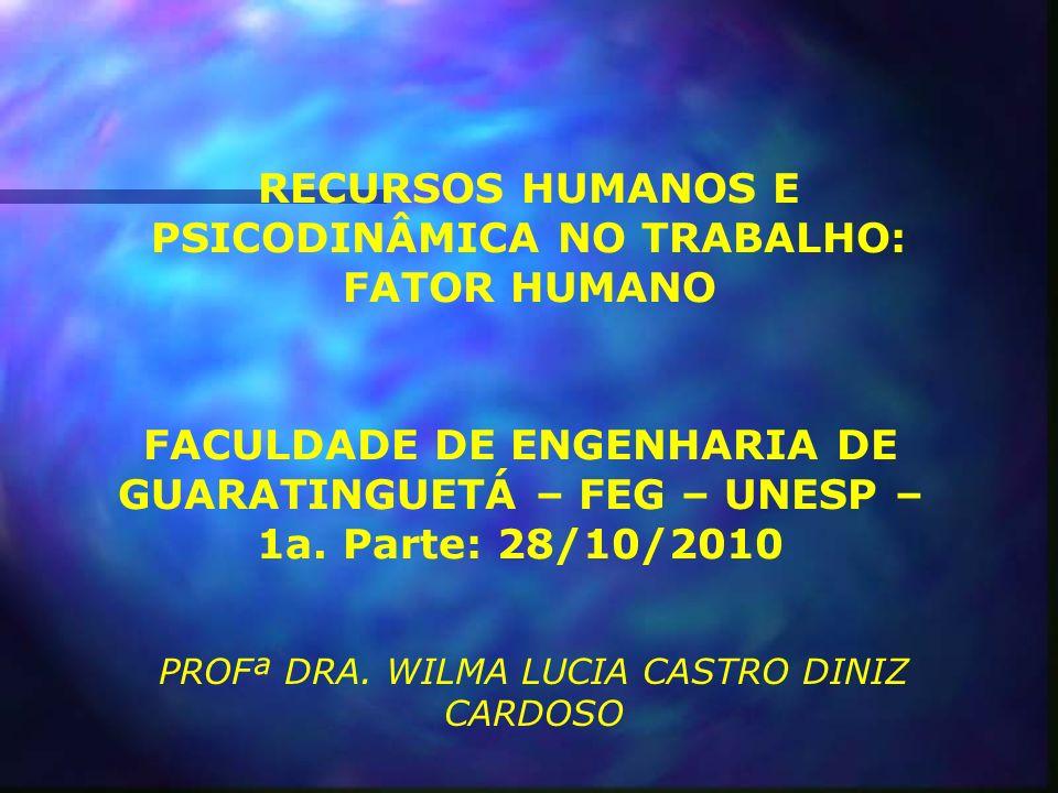 INTRODUÇÃO AO CONCEITO DE FATOR HUMANO NO TRABALHO Há muitos profissionais interessados no uso do conceito de Fator Humano: Engenheiros; Engenheiros de higiene e segurança do trabalho; Ergonomistas; Psicólogos do trabalho, entre outros.