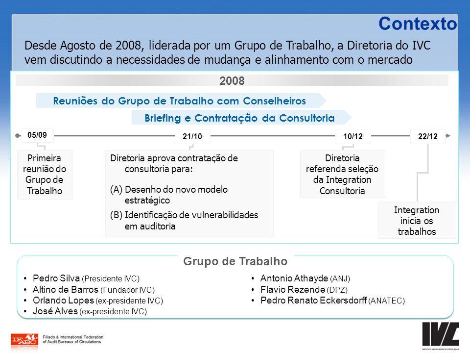 Pedro Silva (Presidente IVC) Altino de Barros (Fundador IVC) Orlando Lopes (ex-presidente IVC) José Alves (ex-presidente IVC) Antonio Athayde (ANJ) Fl