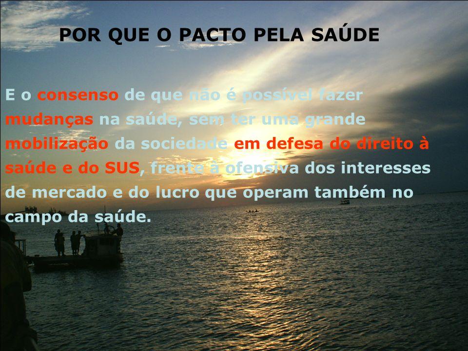 Controle social ampliado – discussão nos coletivos organizados 1.Qual o entendimento que a sociedade brasileira tem sobre o SUS.