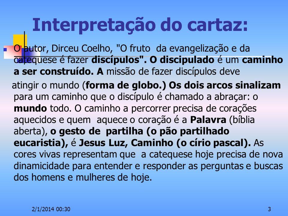 Interpretação do cartaz: O autor, Dirceu Coelho,