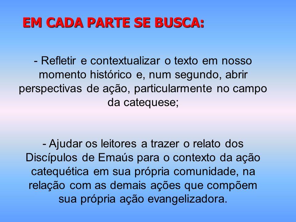 Pautas de ação para o Ano Catequético Nacional AÇÕES EM TORNO AO MINISTÉRIO DA PALAVRA (DGAE 9-14) 1- Inserir a catequese na Pastoral de Conjunto; 2- a necessidade, na animação bíblico-catequética da comunidade eclesial, 3- se realizar outras ações, que levem a uma catequese contextualizada, no contexto atual de cada comunidade eclesial.