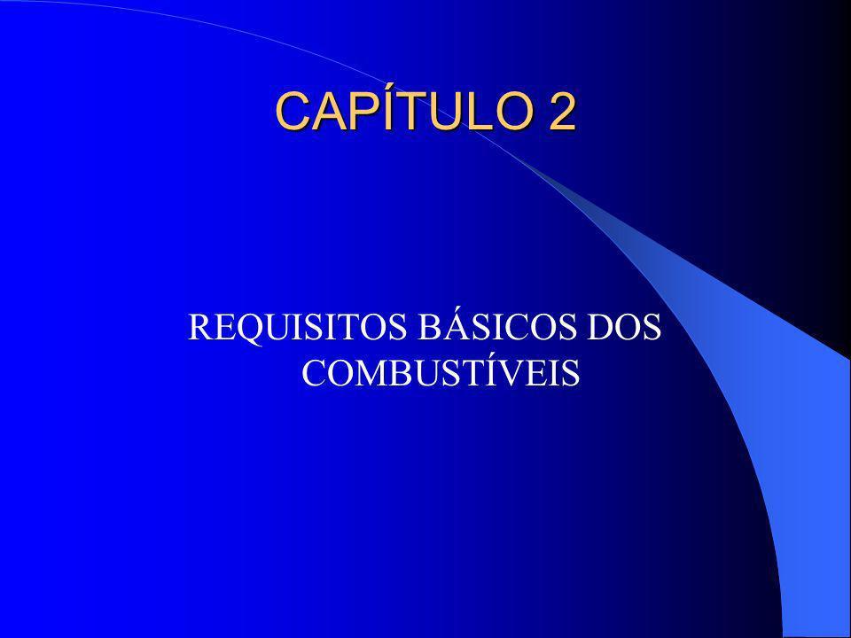 CAPÍTULO 2 REQUISITOS BÁSICOS DOS COMBUSTÍVEIS