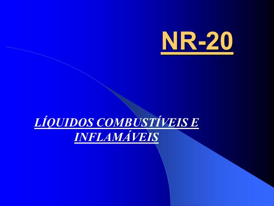 NR-20 NR-20 LÍQUIDOS COMBUSTÍVEIS E INFLAMÁVEIS