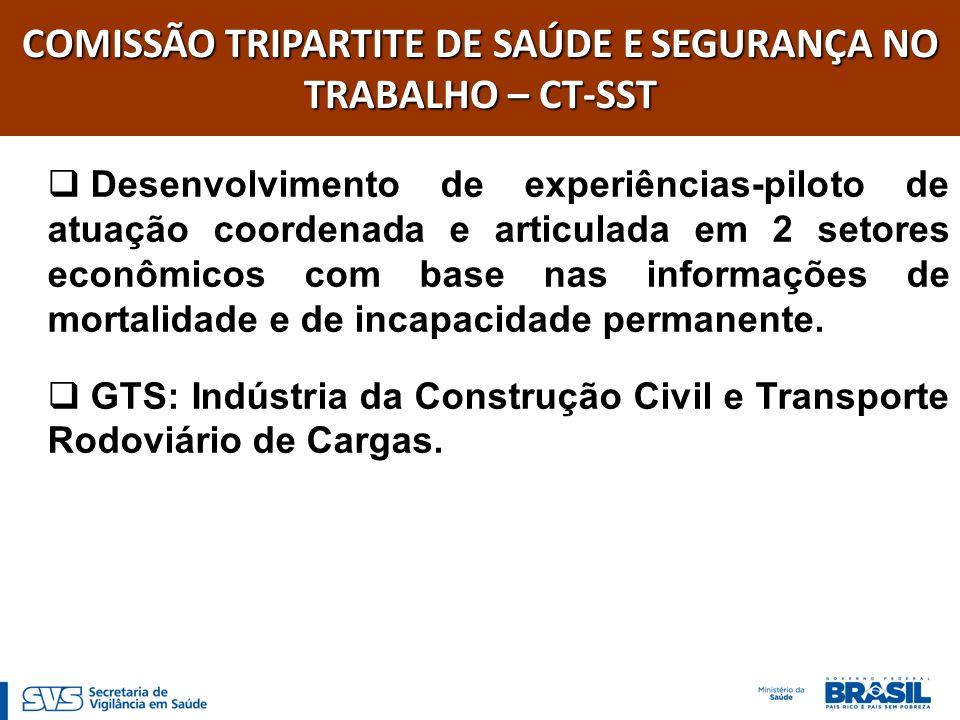 GRUPO DE TRABALHO SETORIAL DO TRANSPORTE RODOVIÁRIO DE CARGAS – GTS-TRC Coordenação: MS.