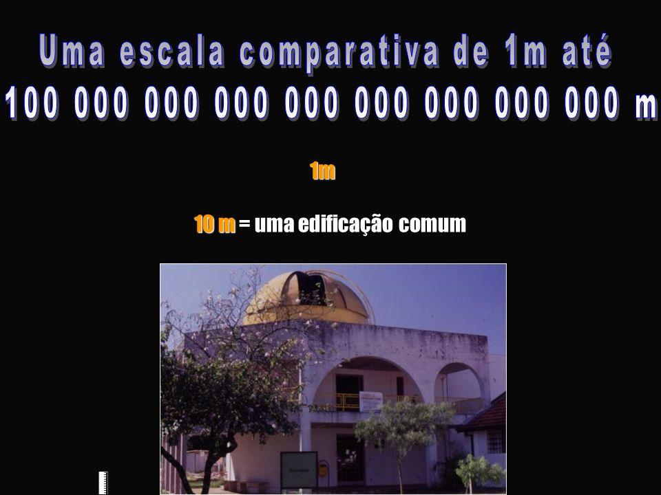 10 m 10 m = uma edificação comum1m