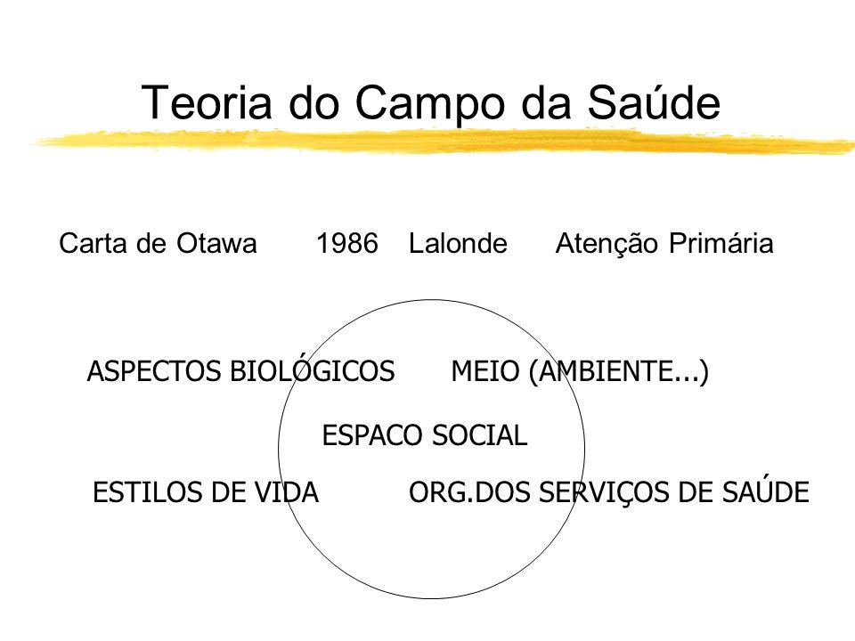 O processo Saúde - Doença zMonocausal = a supremacia do biológico zMulticausal = O Modelo Ecológico zA Determinação Social: AgenteMeio Hospedeiro Meio