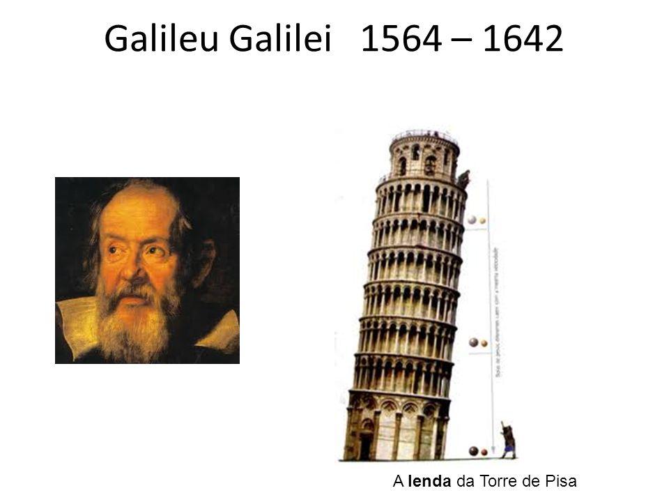 Galileu Galilei 1564 – 1642 A lenda da Torre de Pisa