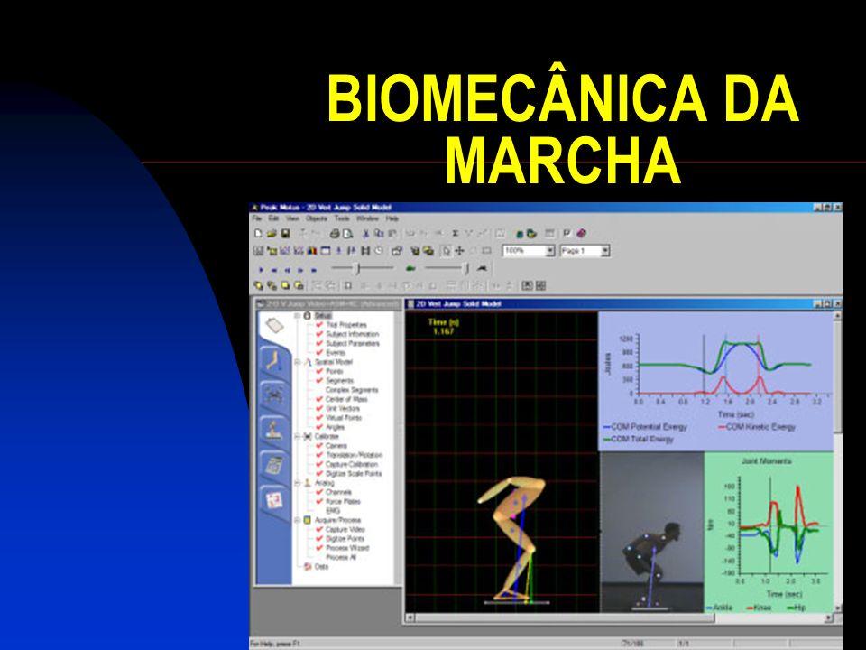 MARCHA A marcha é influenciada por um conjunto multifactorial considerado determinante no seu padrão.