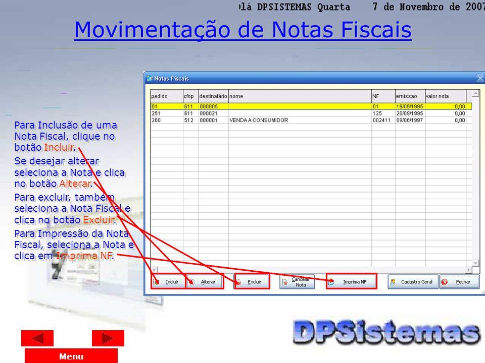 No menu Relatórios de Caixa com Bancos, na opção Listagem dos Pedidos, é impressa a lista das vendas do dia. Menu Listagem dos Pedidos