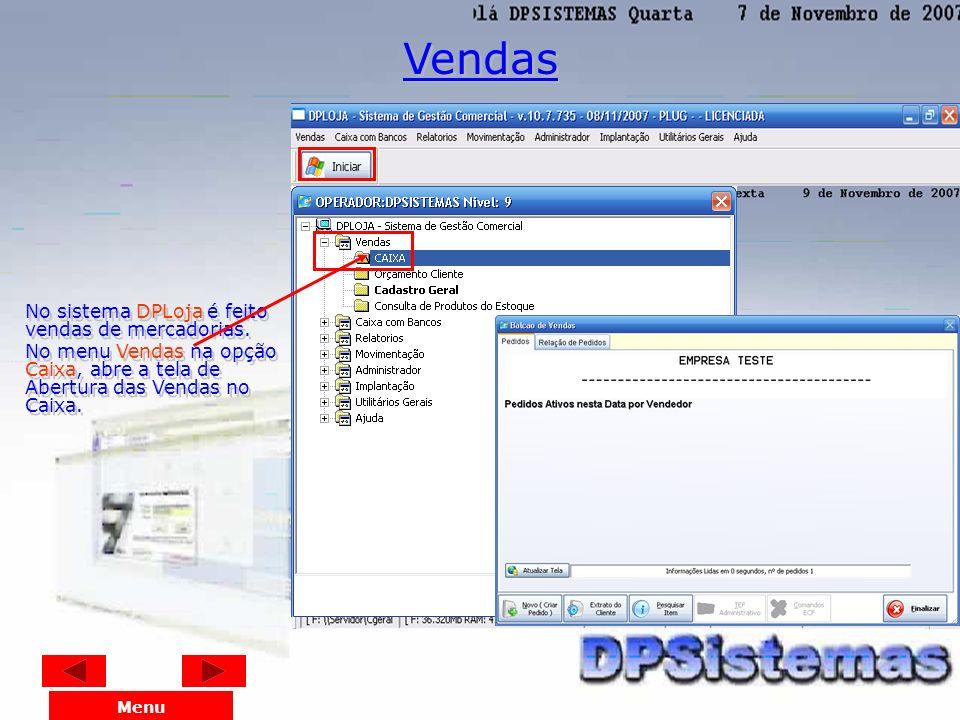 Entre no sistema e localize o menu Utilitários Gerais; Localize a opção Cadastro dos Usuários; O sistema irá solicitar uma Senha Geral de Segurança. P