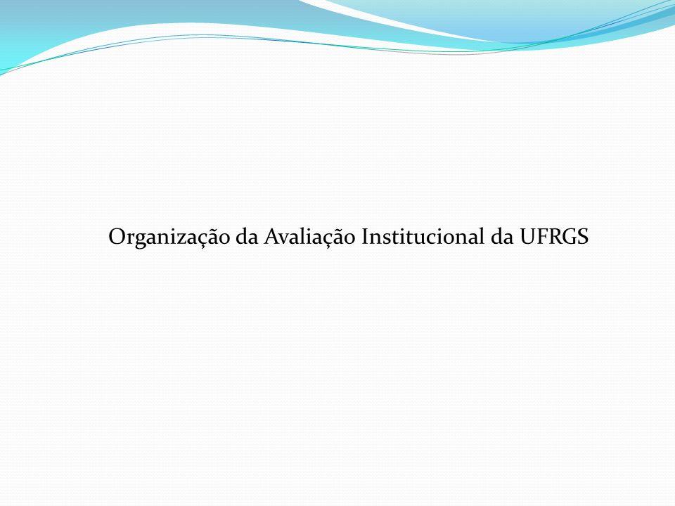 Organização da Avaliação Institucional da UFRGS