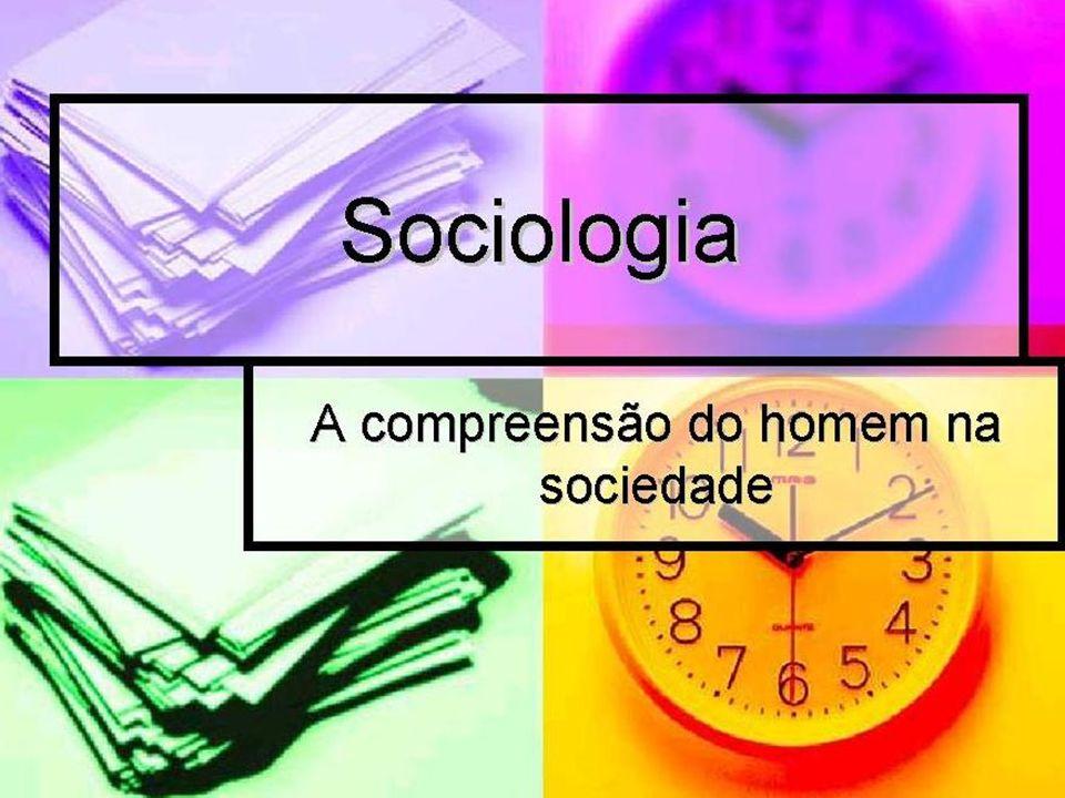 Introdução a Sociologia Sociologia é a ciência que estuda o convívio entre as pessoas em grupos, associações, comunidades, etc, em vários tamanhos de rede social: desde uma pequena família, até grandes grupos étnicos, religiosos, etc.