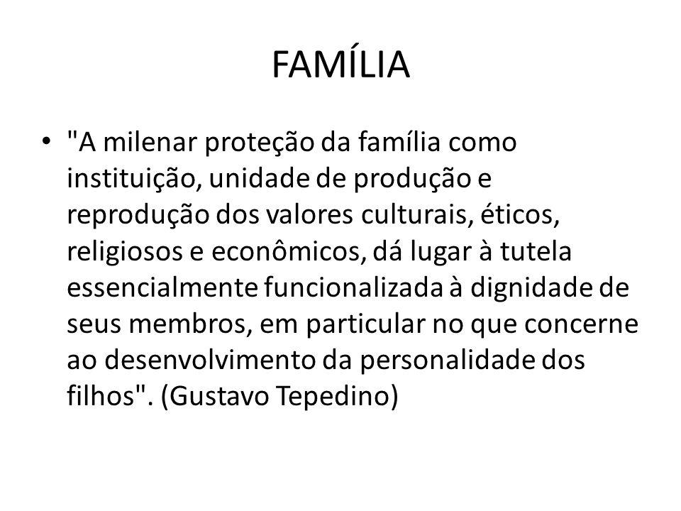 Direito de Família O Direito de Família é o mais humano de todos os ramos do Direito.