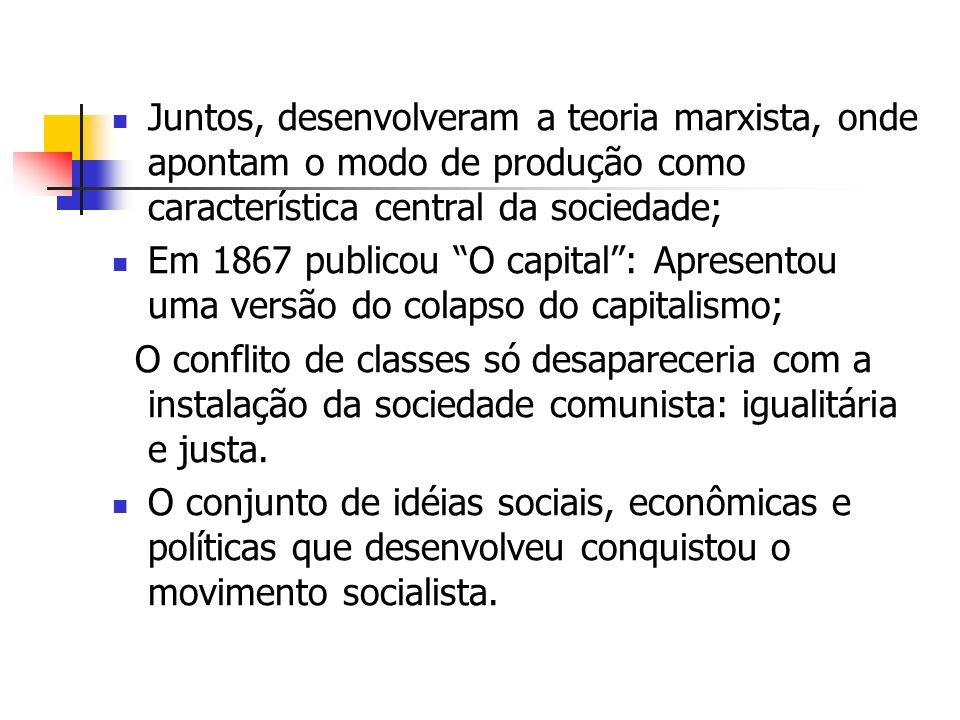A noção de Estado em Marx A luta de classes só se torna inteiramente aberta ao conjunto da nação no dia em que domina a estrutura do poder do Estado; A social-democracia dirige a luta da classe operária na sua relação com patrões e o Estado, como força política organizada;