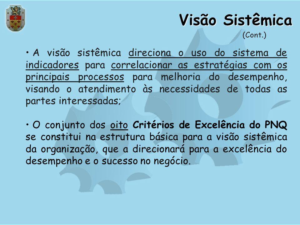 Visão Sistêmica As organizações são constituídas por uma complexa combinação de recursos (capital humano, capital intelectual, instalações, equipament