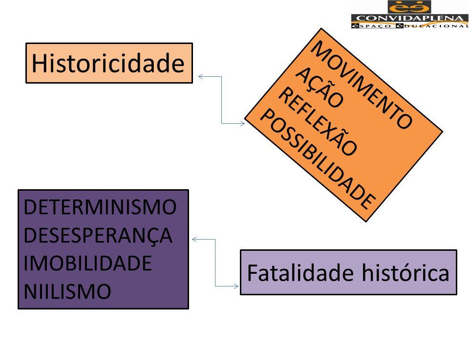 CUIDADO Processo de naturalização da miséria, do fatalismo histórico NATURALNORMAL COMUMCULTURAL