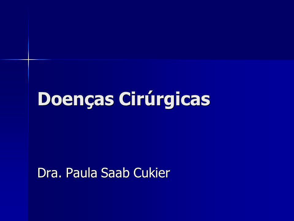 Colecistopatia Calculosa Presença de cálculos no interior da vesícula biliar Presença de cálculos no interior da vesícula biliar