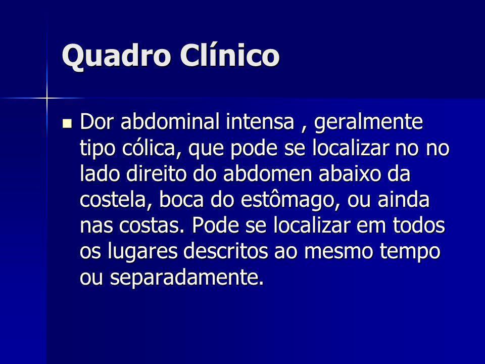 Diagnóstico Clínico Clínico Laboratorial Laboratorial USG USG TC de abdome TC de abdome