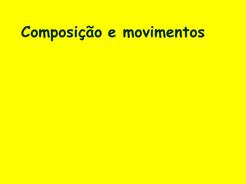 Composição e movimentos
