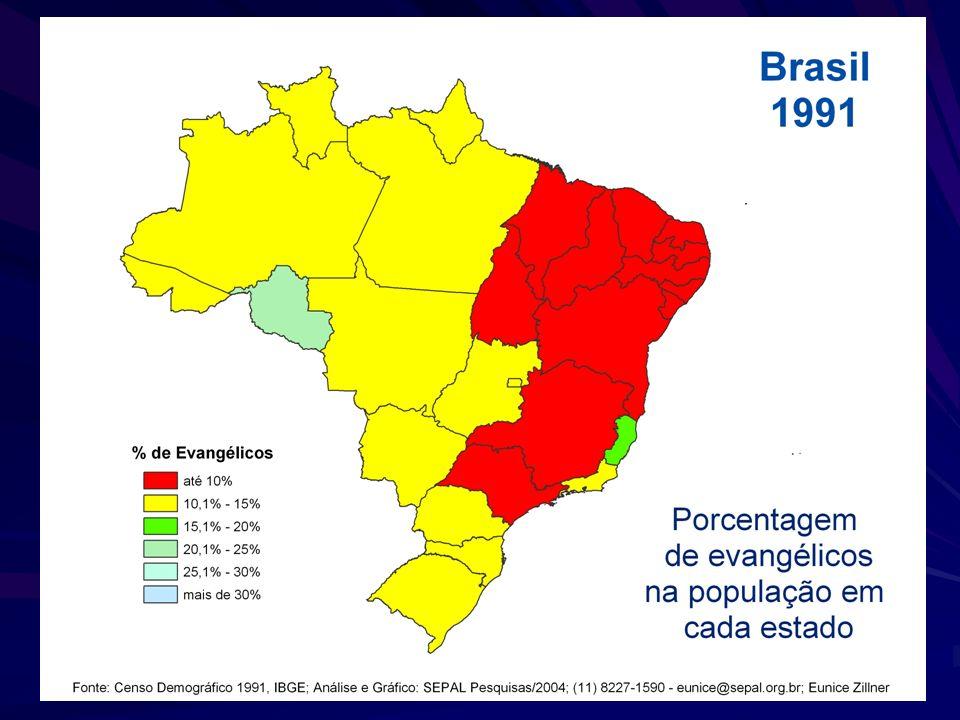 Fonte: IBGE, Censos Demográficos de 1980, 1991 e 2000 Eunice Zillner Sepal 2006 – pesquisas@sepal.org.br