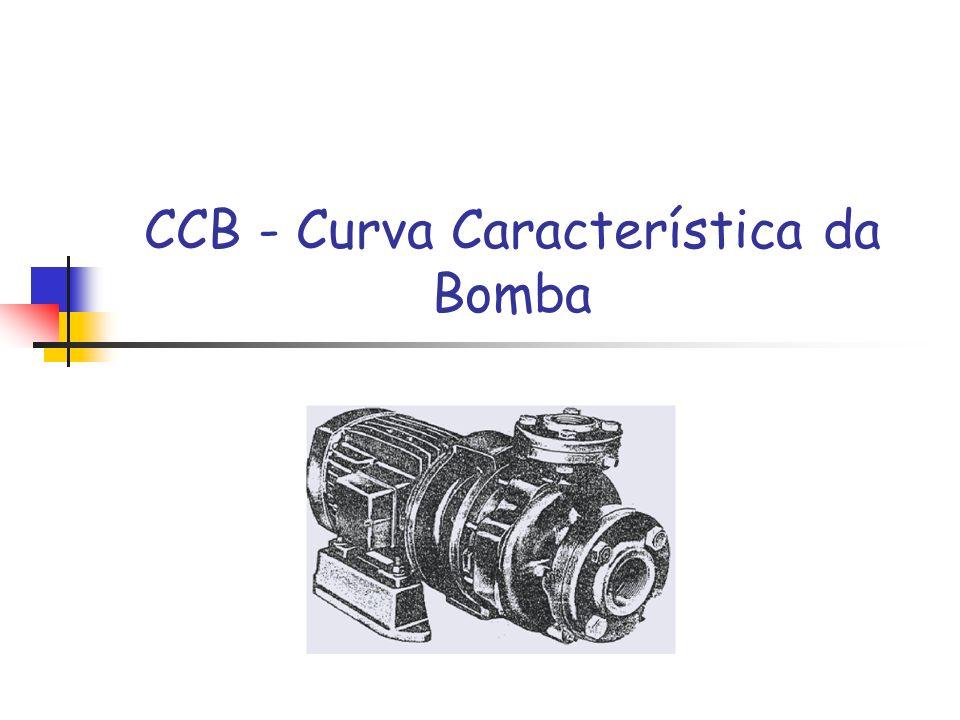 CCB - Curva Característica da Bomba