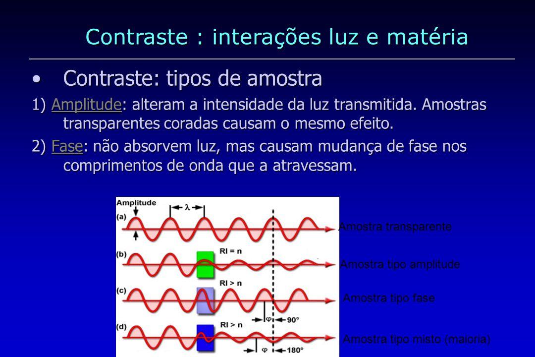 Sem retardo de fase: amplitude aumentada Retardo de fase de 90º: amplitude reduzida Retardo de fase de 180º: amplitude zero Onda A Onda B Resultante Onda A Onda B Resultante Onda A Onda B Resultante Interferência construtiva Interferência destrutiva
