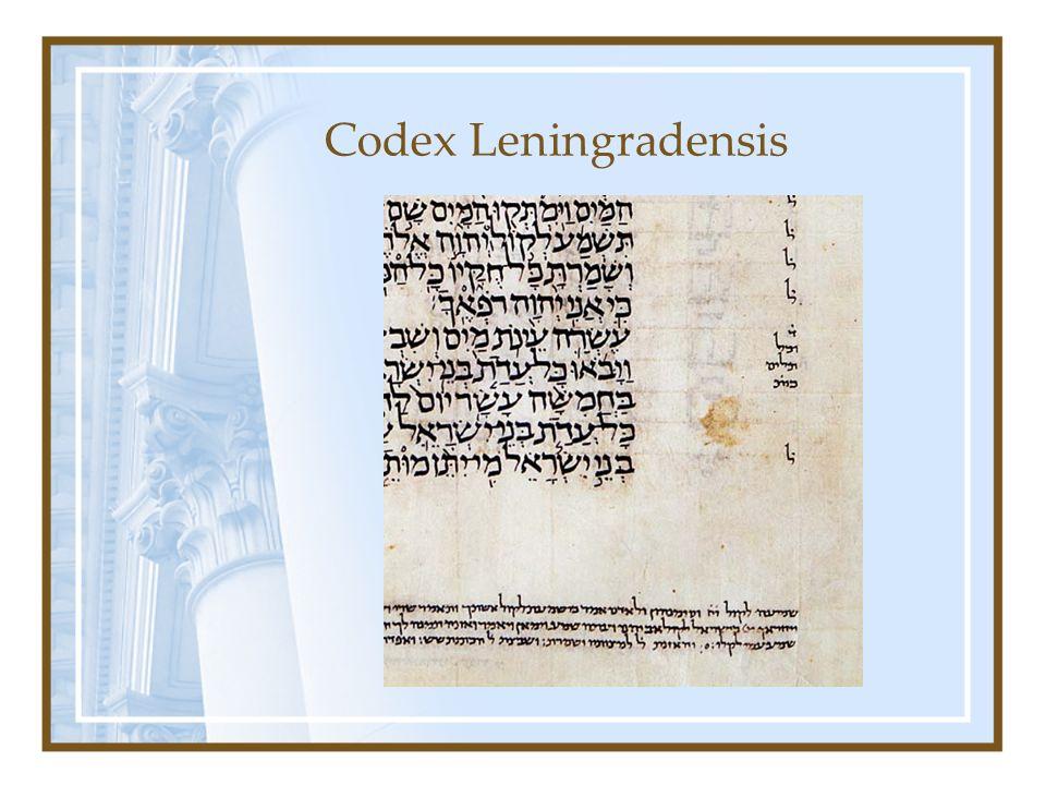 Codex Leningradensis