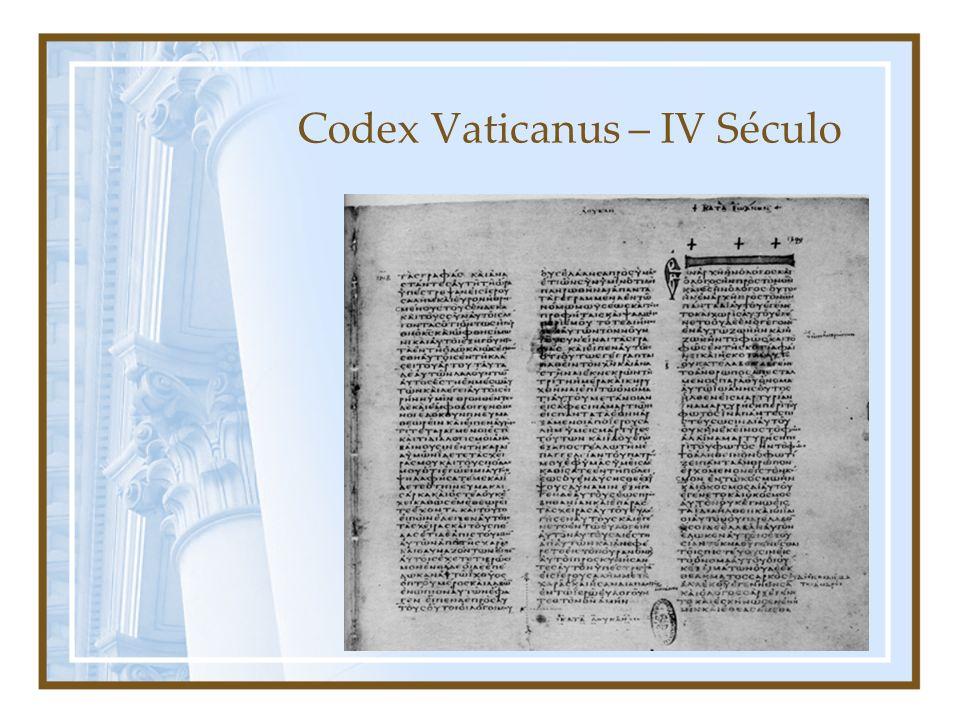Codex Vaticanus – IV Século