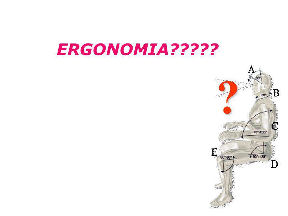 Ergonomia no Trabalho Curso de Design ? ERGONOMIA?????