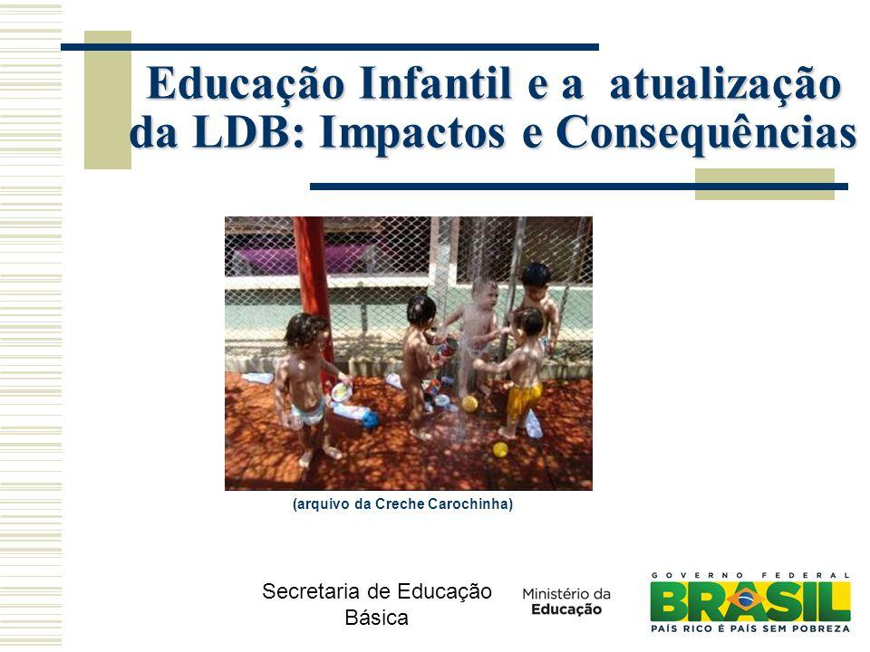 Secretaria de Educação Básica (arquivo da Creche Carochinha) Educação Infantil e a atualização da LDB: Impactos e Consequências