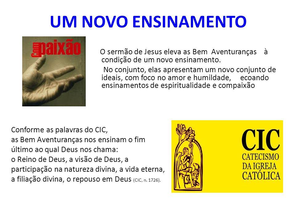 Evangelho: Mateus X Lucas As Bem Aventuranças aparecem no Evangelho de Mateus (5, 3-12) e de Lucas (6, 20-26).