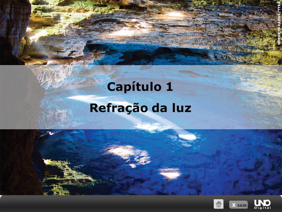 X SAIR Capítulo 1 Refração da luz ROBERTO VAMOS/TYBA