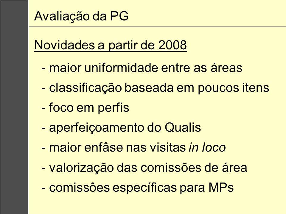 Principais desafios Crescimento do sistema Diversificação da oferta Assimetria regional Articulação com o SINAES Avaliação da PG