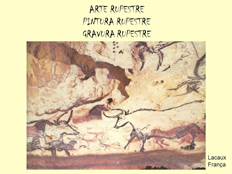 ARTE RUPESTRE PINTURA RUPESTRE GRAVURA RUPESTRE Lacaux França