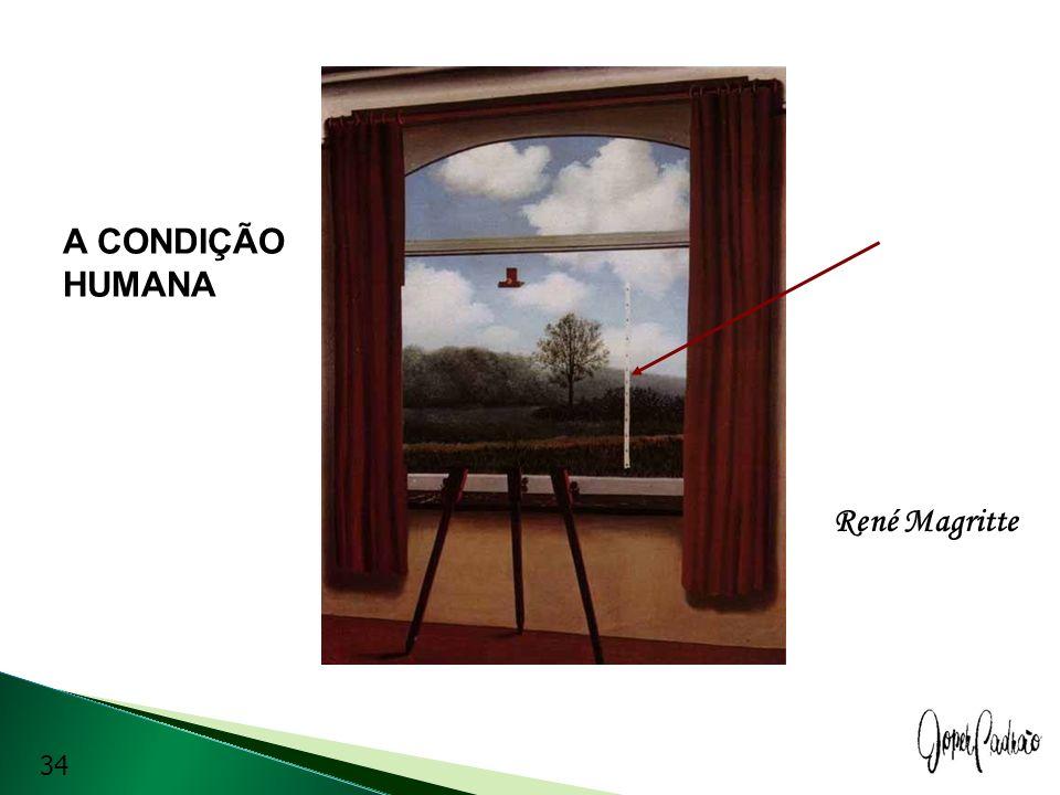 René Magritte A CONDIÇÃO HUMANA 34