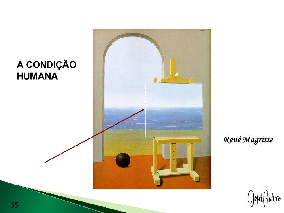 A CONDIÇÃO HUMANA René Magritte 35