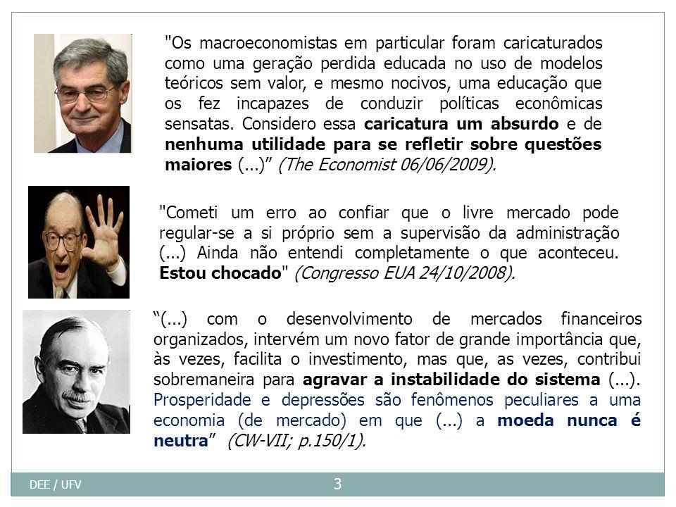 Taxa Básica de Juros (Selic) DEE / UFV 24 Fonte: Gabinete Sem Aluísio Mercadante Acumulado de 01 a 09 de 2009 7,67%