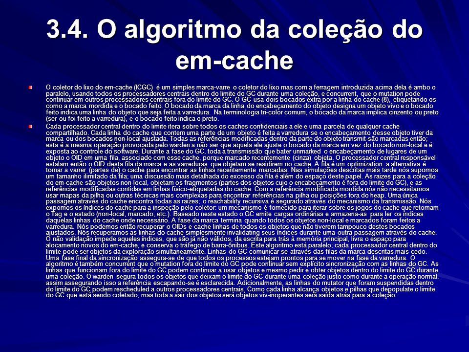 3.3. Encontrando referências e raízes As referências dentro dos objetos podem ser identificadas usando o conhecimento da disposição bifurcated do obje