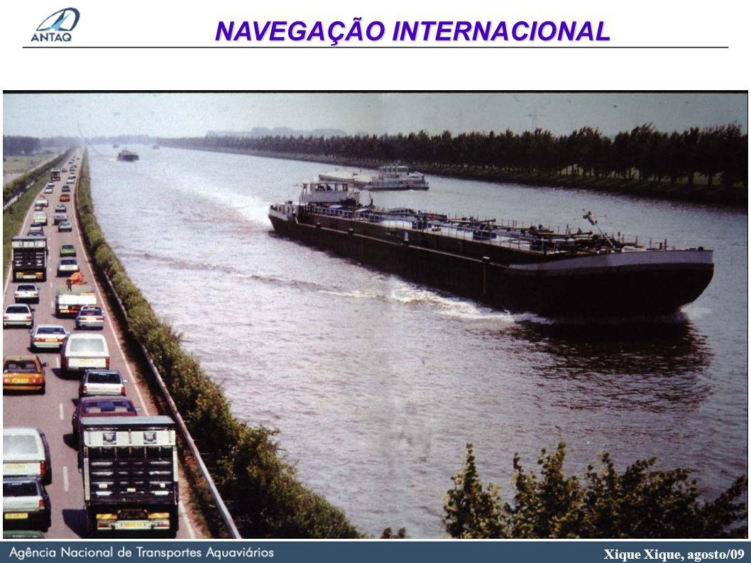 Xique Xique, agosto/09 NAVEGAÇÃO INTERNACIONAL