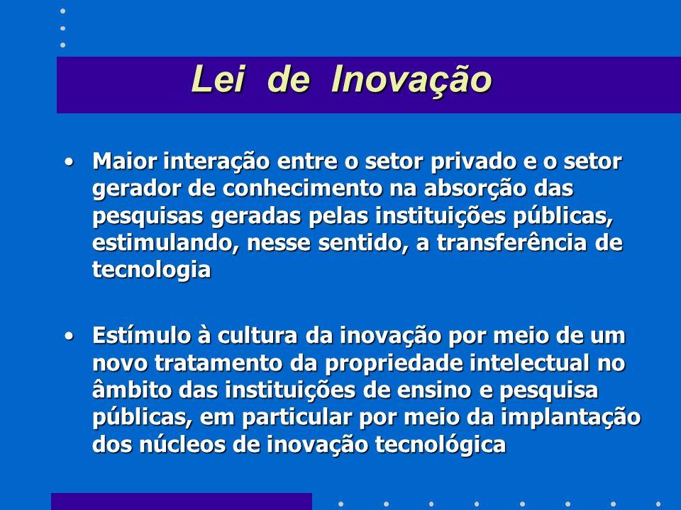 Alianças estratégicas para a cooperação entre as Instituições de Ciência e Tecnologia (ICT) e os setores empresariaisAlianças estratégicas para a coop
